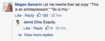 Jenny Chiu facebook comments