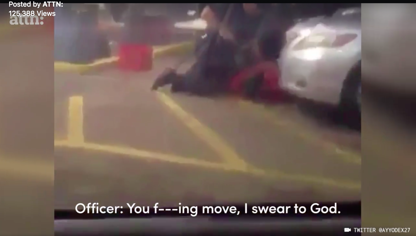 """Disturbing new video shows police shooting and killing a Black man selling CDs in Louisiana."""