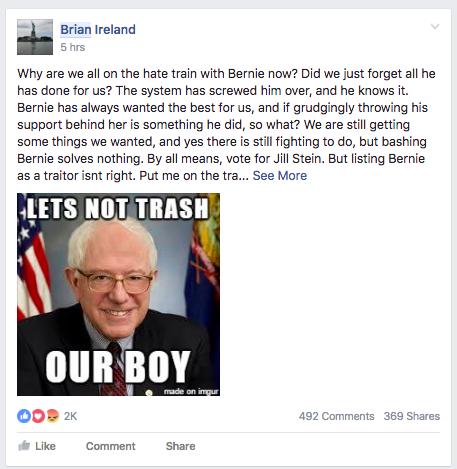 lets not trash our boy