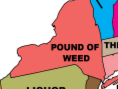 pound of weed in new york