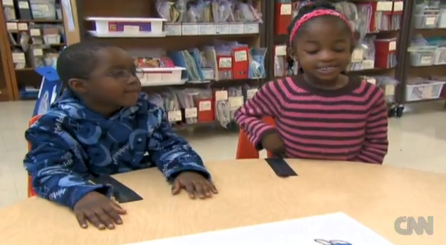 Black children talk about their feelings on white and black people.