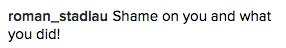 slut shaming comment