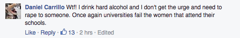 Stanford alcohol policy comments
