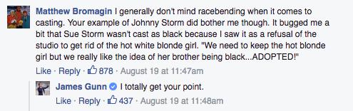 James Gunn Facebook