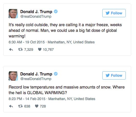 trump climate change