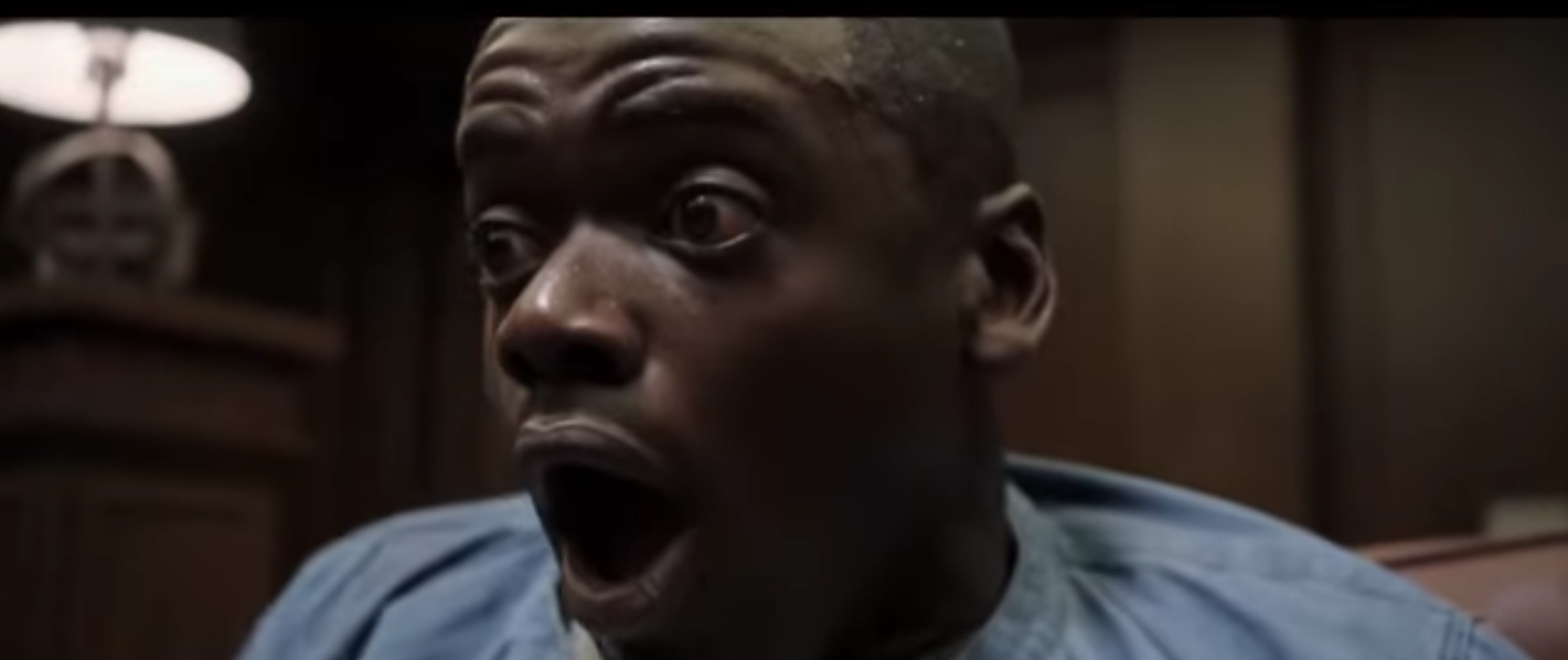 """""""Get Out"""" trailer."""