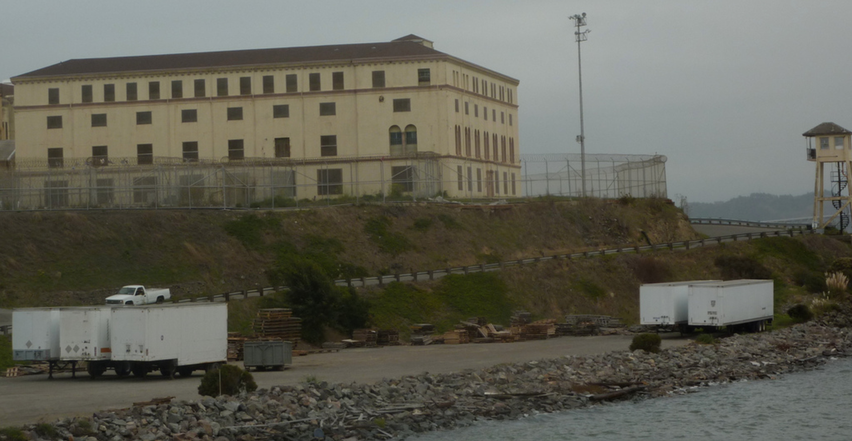 San Quentin State Prison in San Francisco, where California's Death Row Inmates are Housed.