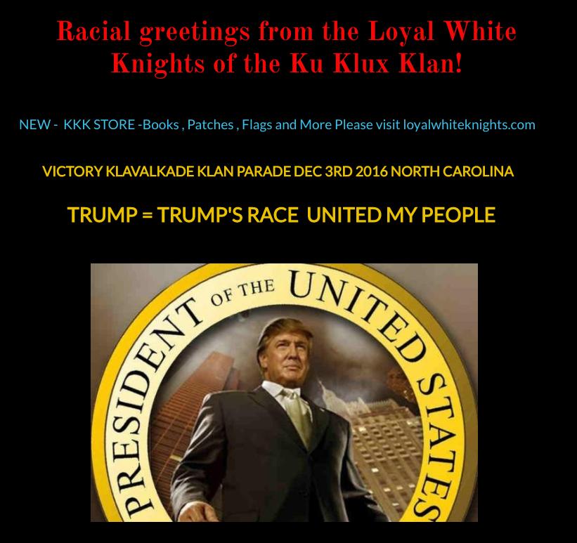 Plans for a President-elect Donald Trump parade.