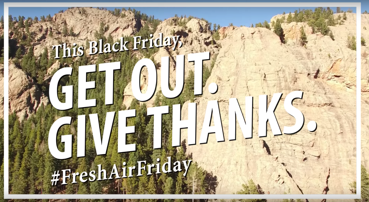 Colorado Parks #FreshAirFriday campaign