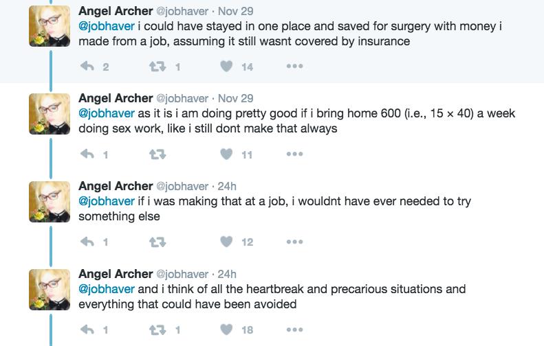 Angel Archer's tweets.