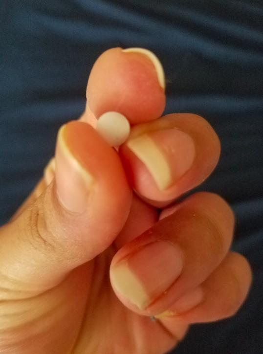 A birth control pill.