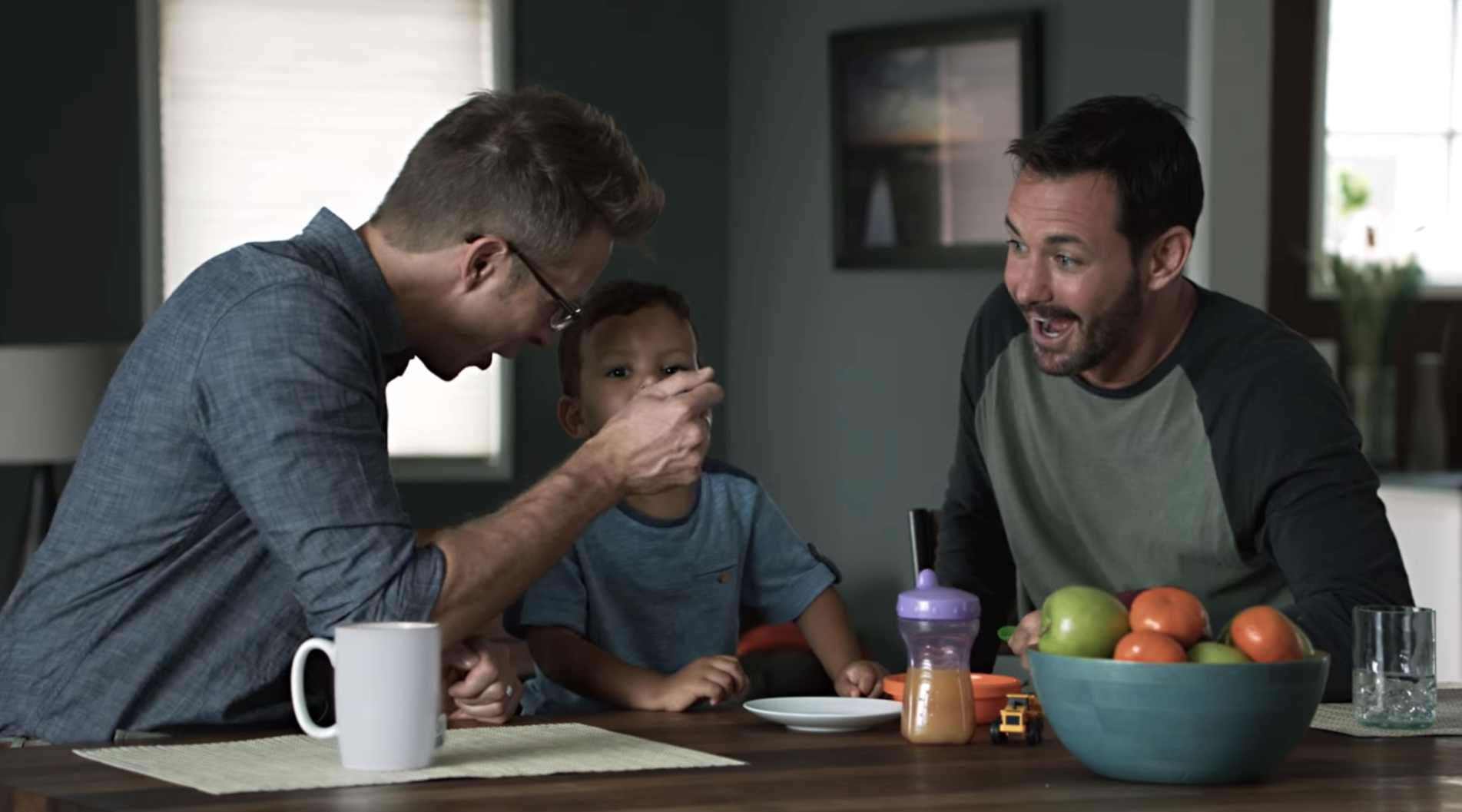 Campbell's Soup gay dads