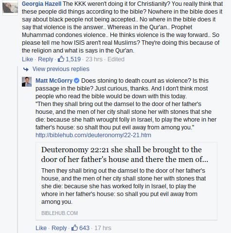 Matt McGorry Facebook