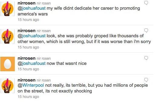 Nir Rosen tweets