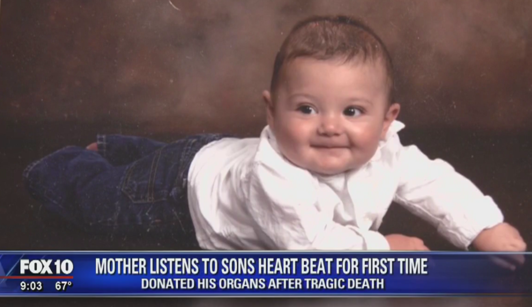 The Amazing Reason This Mom Got to Hear Her Son's Heart Beat One More