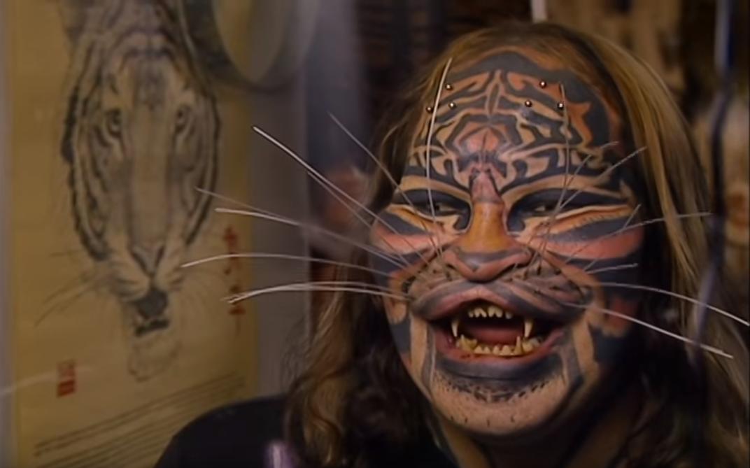 Dennis Avner Stalking Cat