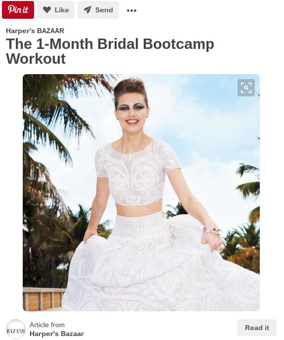 Bridal bod Pinterest