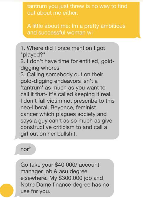 Bumble conversation