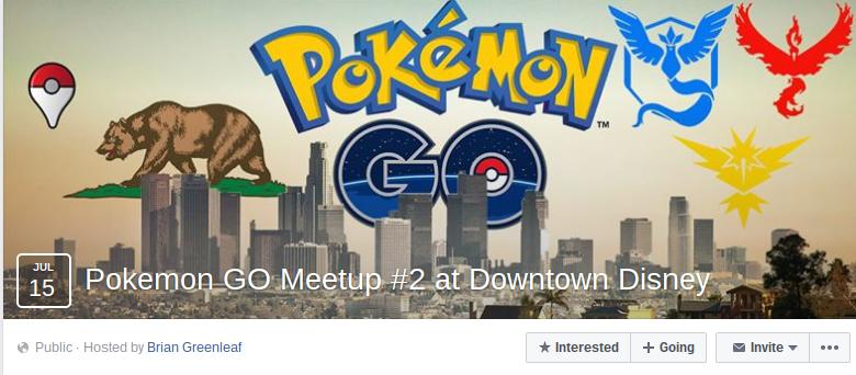 Pokémon Go meetup