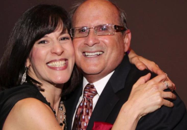 Deborah Greene and her dad