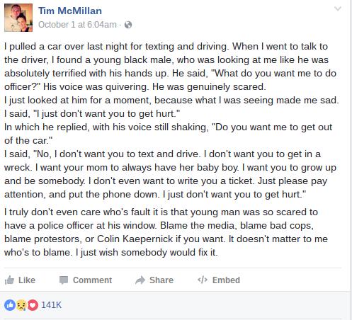 Tim McMillan Facebook