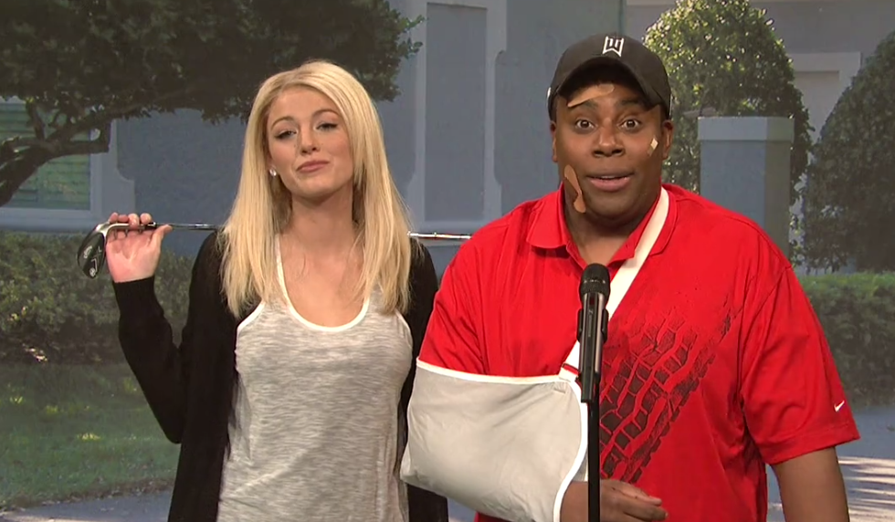 Tiger Woods SNL skit