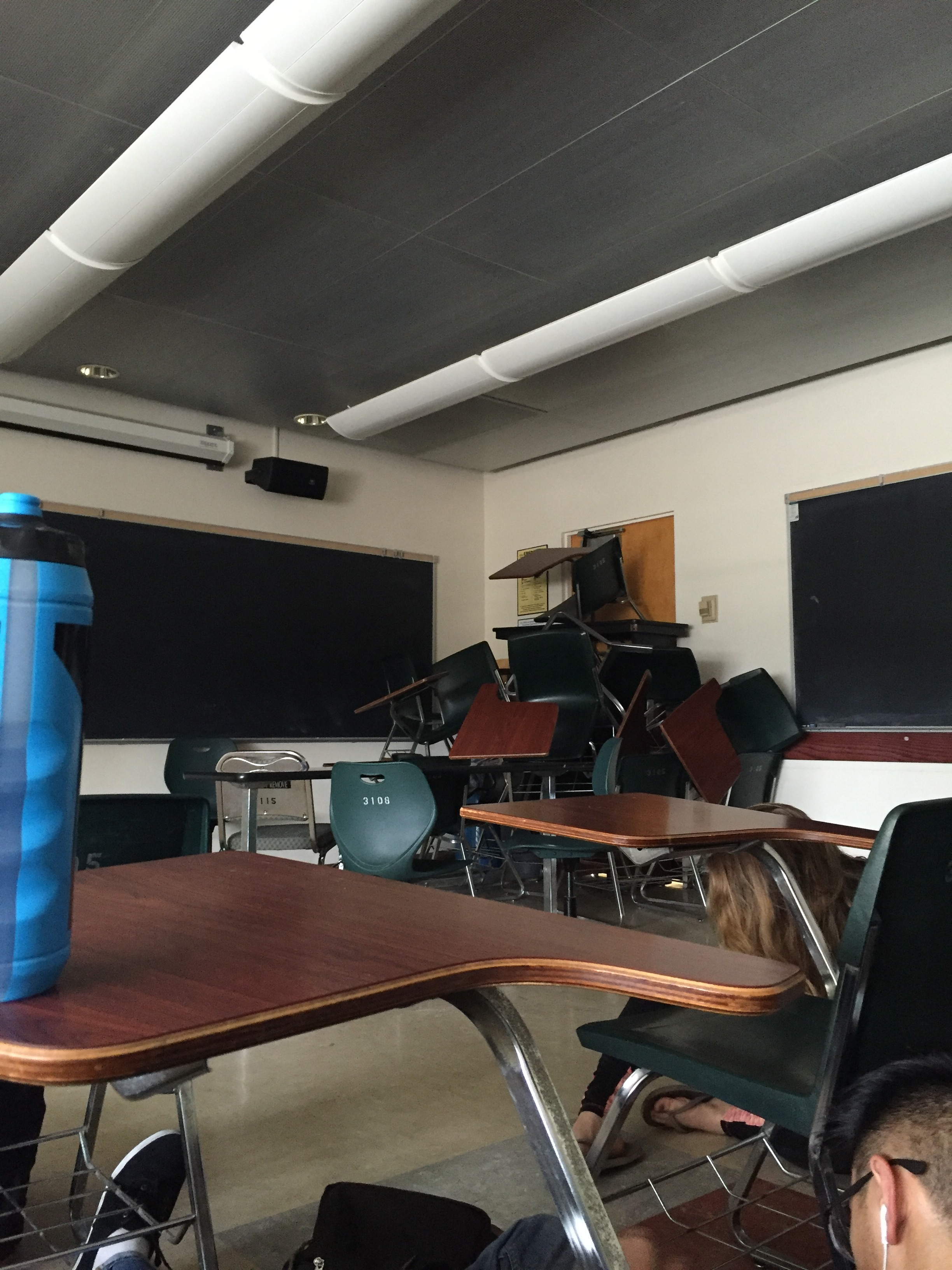 Students barricade themselves in UCLA classrooms