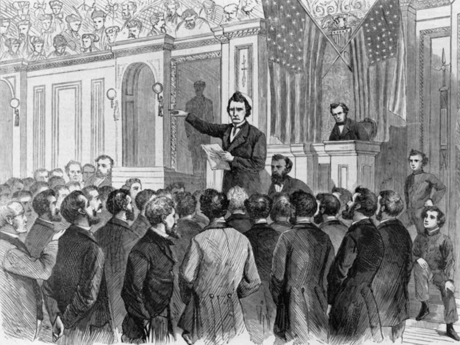 Speech at the Impeachment of Andrew Johnson