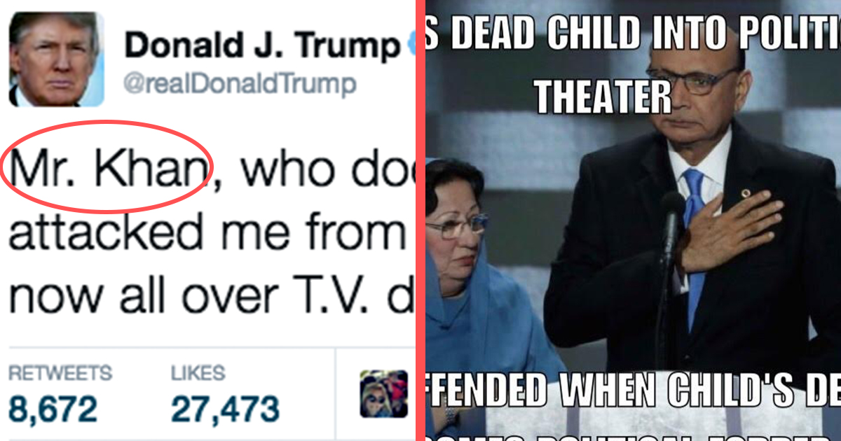 Trump_Memes memes show why donald trump supporters justify behavior attn,Trump Family Meme