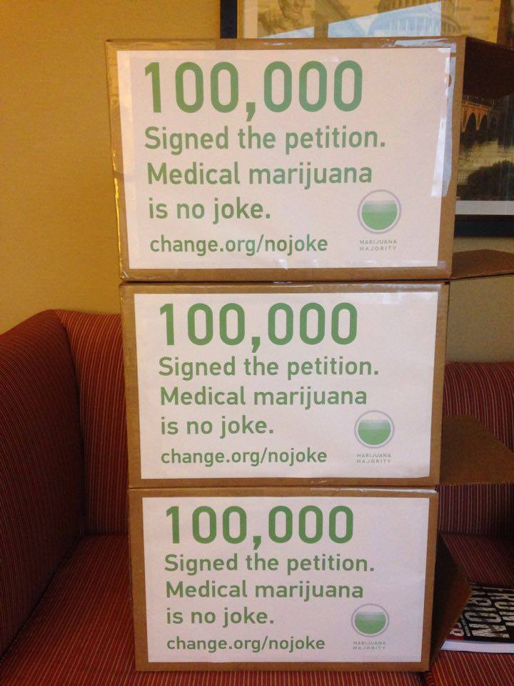 Change.org petition calling for DEA chief's ouster