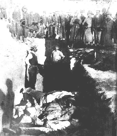 Wounded knee mass grave.