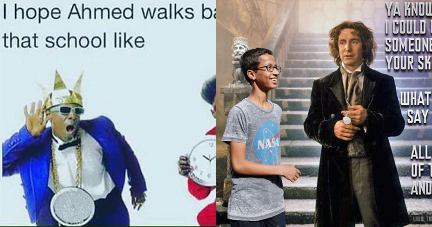 ahmed memes seven memes responding to istandwithahmed attn