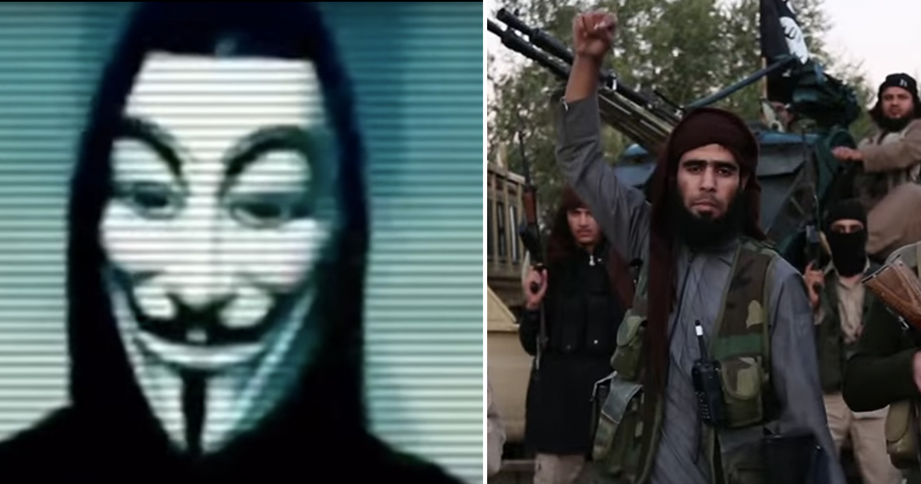 Anonymous Warns of Multiple ISIS Attacks