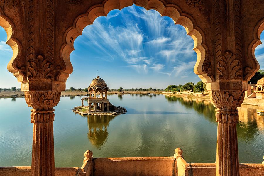 Indian landmark Gadi Sagar