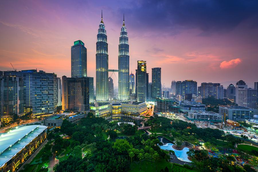 Kuala Lumpur, Malaysia city skyline