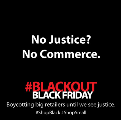 #BlackoutBlackFriday