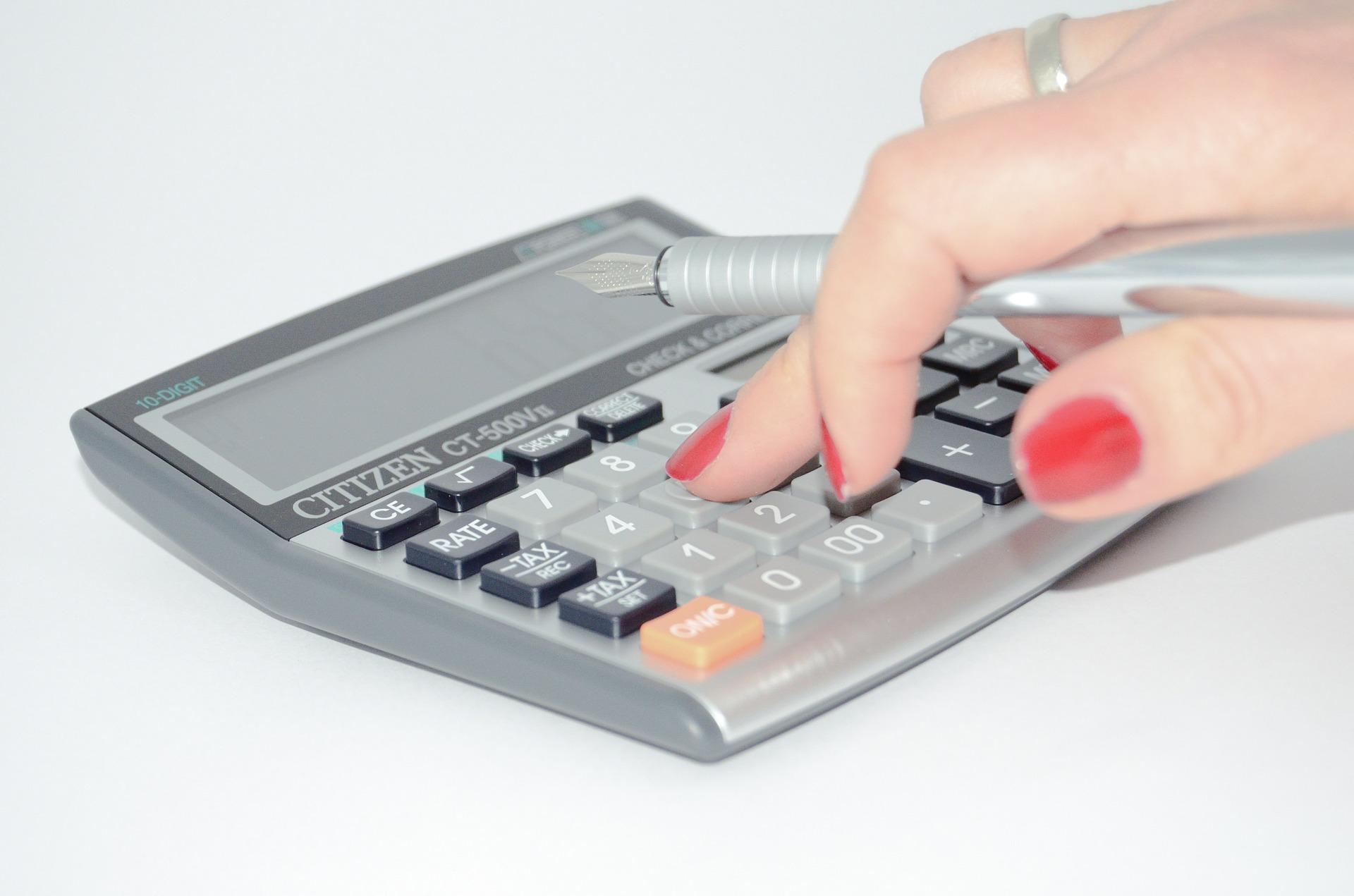 Image of calculator.