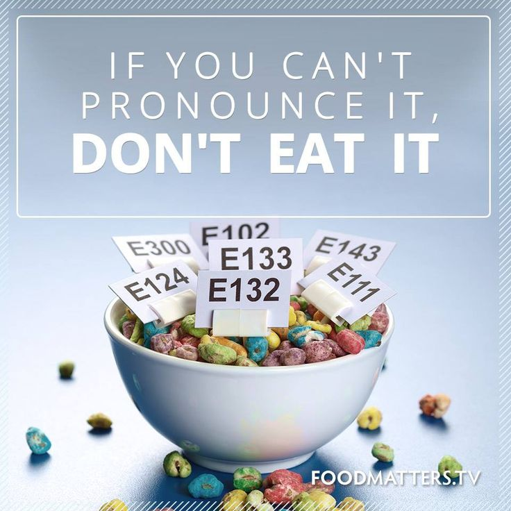 Bad Dietary Advice