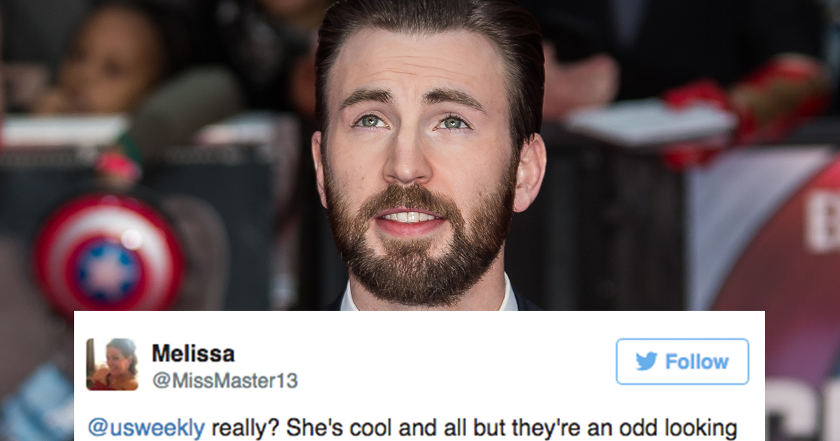 Chris Evans dating Mona Lisa