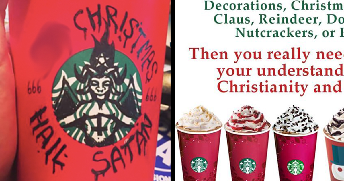 The Internet Is Brilliantly Responding to Outrage Over Starbucks Cups