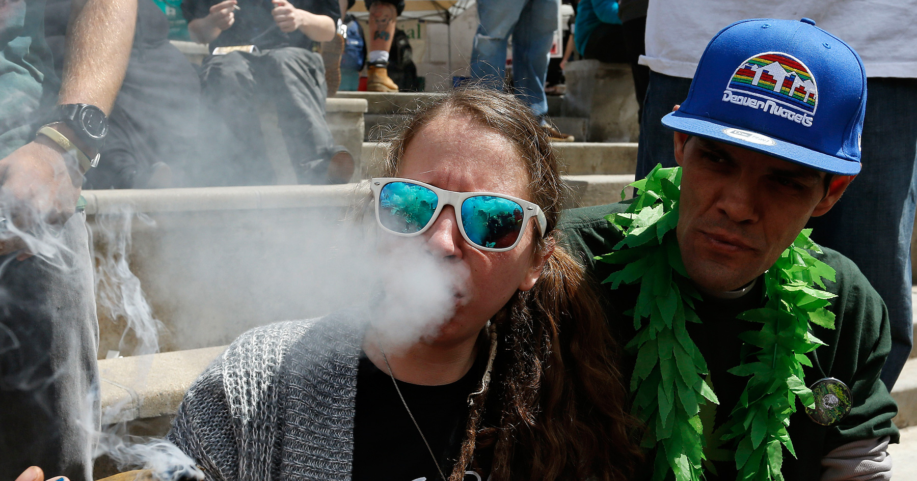 Colorado pro-marijuana rally