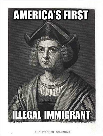 columbus illegal christopher columbus is the first illegal immigrant attn,Christopher Columbus Memes
