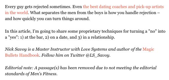 Men's Fitness Intro