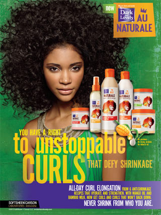 Theres Something Missing From These Ads For Black Natural Hair