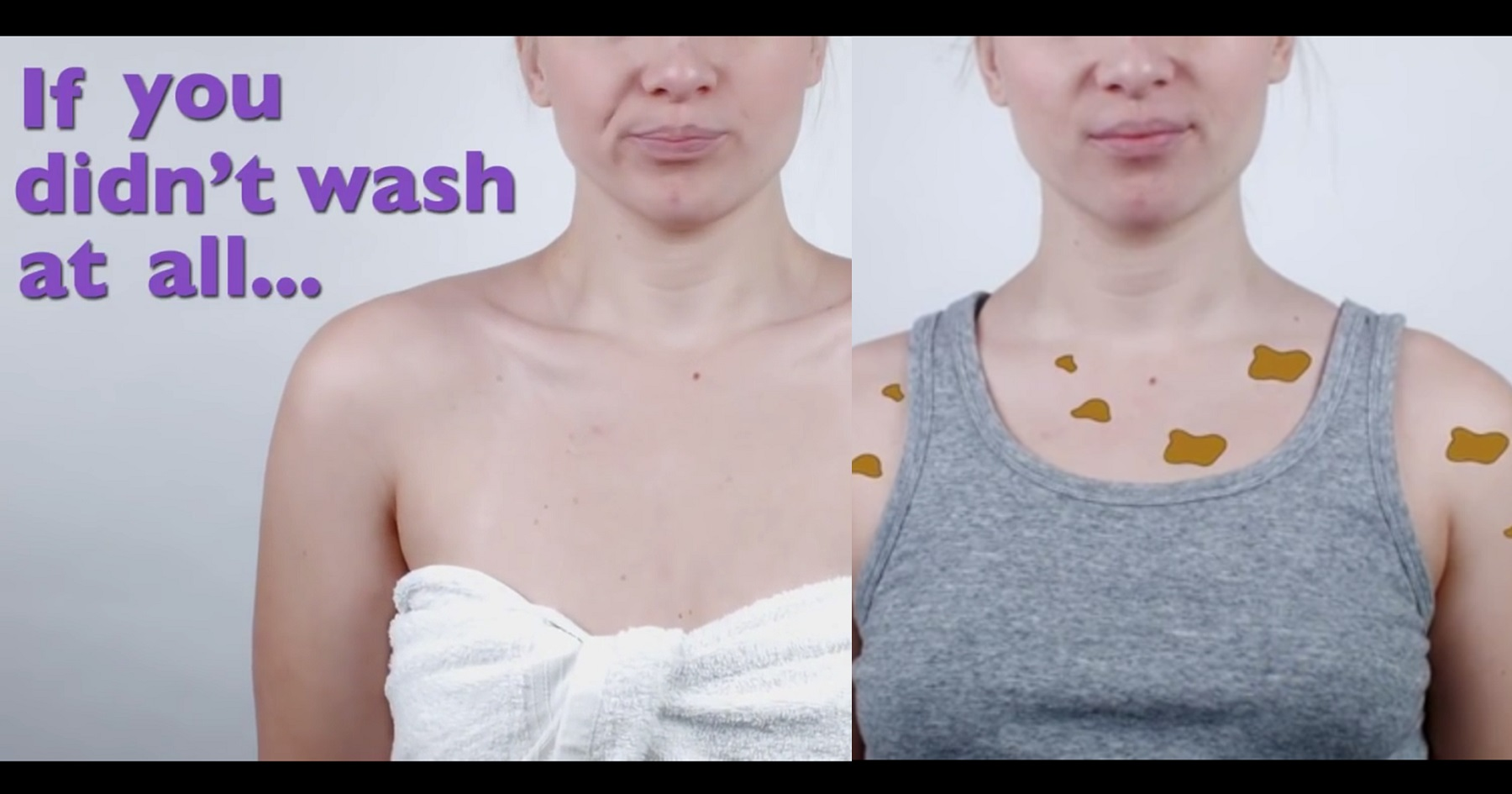 Watch What Really Happens If You Don't Wash Your Towels Regularly video