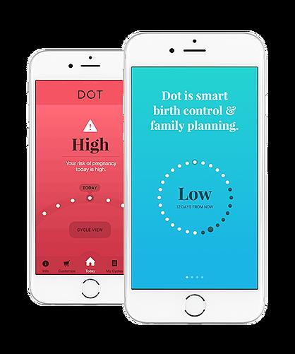 dot app on iphones