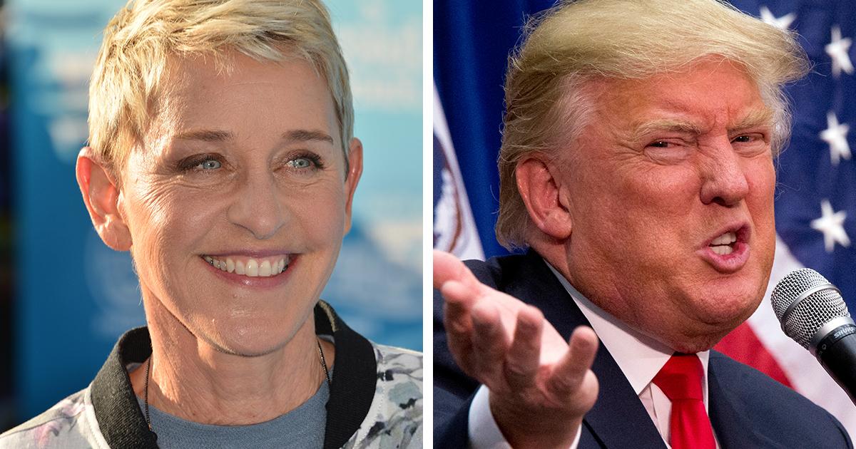 19fc398cf0f2 Ellen Degeneres Says Donald Trump Welcome on Her Show - ATTN