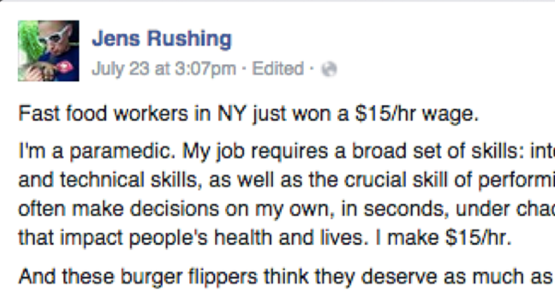 How Much Does An Emt Make >> This Paramedic S Response To Complaints About Overpaid