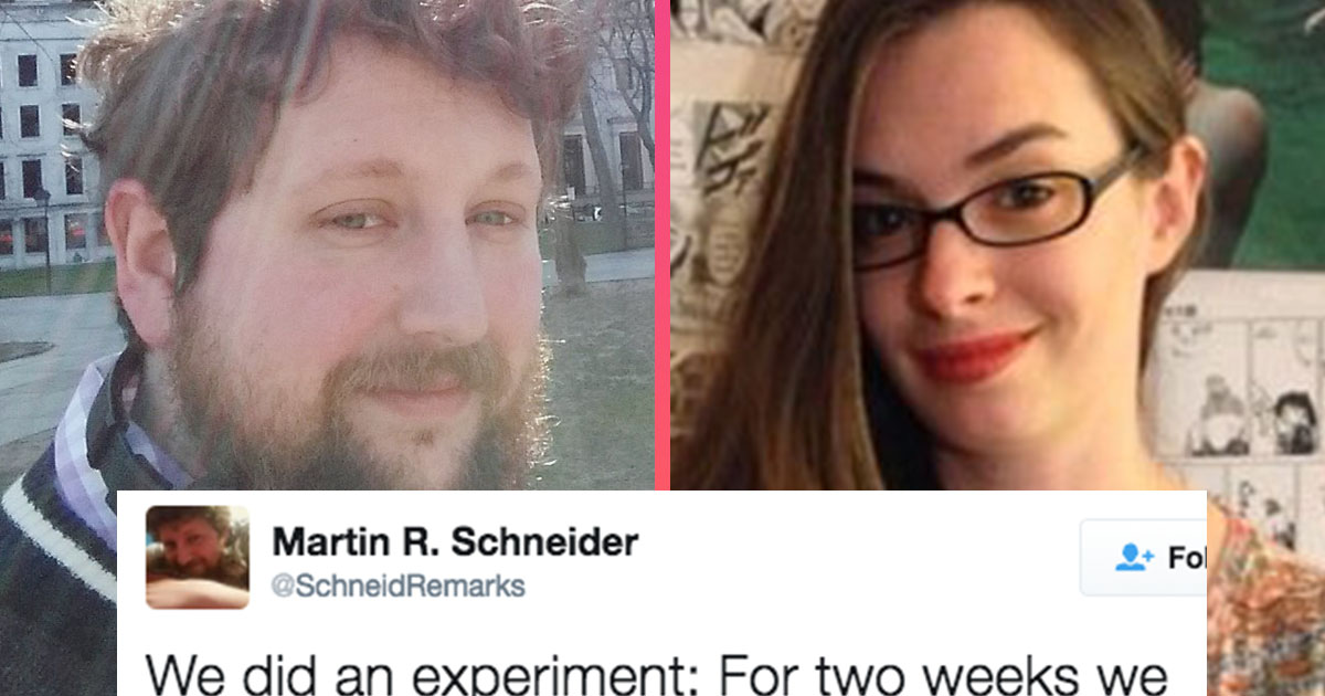 This Man's Sexism Experiment With a Female Co-Worker Is Going Viral