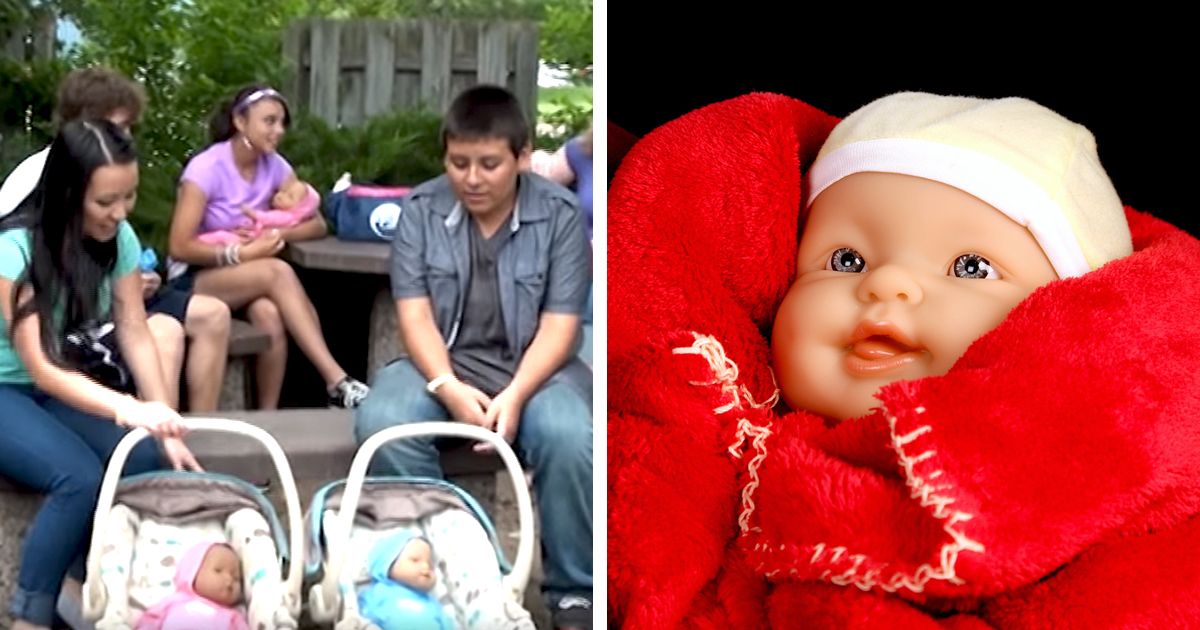 Study Proves Using Fake Babies Increases Teen Pregnancy - Attn-2261